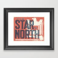Framed Art Print featuring Minnesota by Erik Anthony Hamline