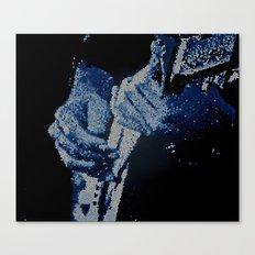 Mosaic Blues Canvas Print
