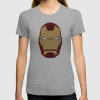 IRONMAN Womens Fitted Tee Athletic Grey SMALL