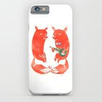 Mister Fox In Love iPhone 6 Slim Case