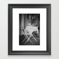 ... Walking By ... Framed Art Print
