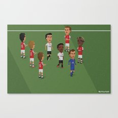Guard of Honour - Arsenal v Manchester United Canvas Print
