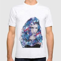 Lorde Mens Fitted Tee Ash Grey SMALL