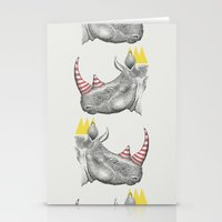 Candy King Stationery Cards