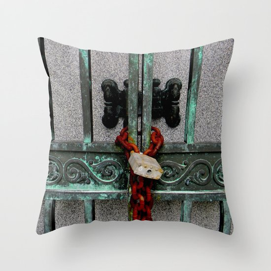 While You're Waiting Throw Pillow