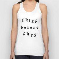Fries Before Guys Unisex Tank Top