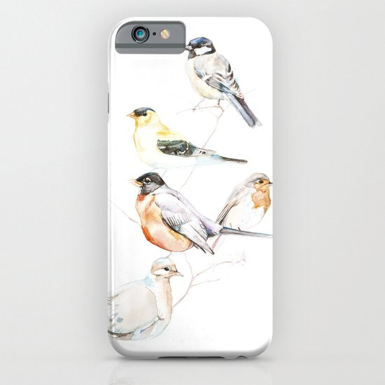 Birds of the Midwest iPhone & iPod Case