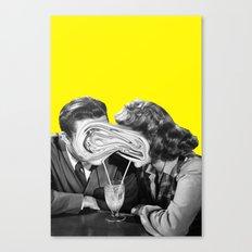 Clicking Canvas Print