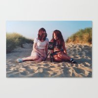 the pair Canvas Print
