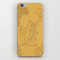 King Max iPhone & iPod Skin