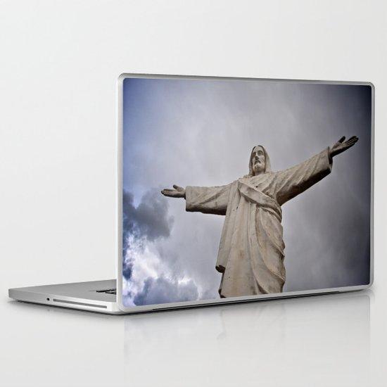Jesus Laptop & iPad Skin