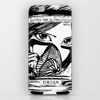 Hikikomori iPhone & iPod Skin