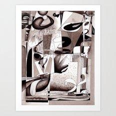 Tangents Art Print