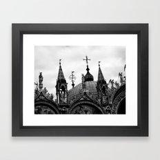 San Marco Roof Framed Art Print