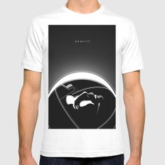 Gravity SMALL Mens Fitted Tee White
