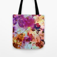 flowers and light Tote Bag