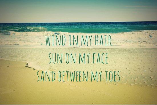 Wind In My Hair II Art Print