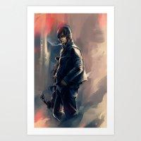 DARYL DIXON - THE WALKIN… Art Print