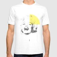 Marilyn Monroe | Esperan… Mens Fitted Tee White SMALL
