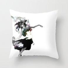 Dance Dance Throw Pillow
