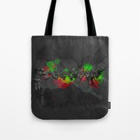 Fragments Of Freedom Tote Bag