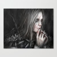 Thoughtful Vengeance  Canvas Print