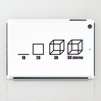 3D stereo iPad Case