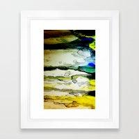 Paint Abstract Framed Art Print