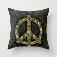 Primary Objective Throw Pillow