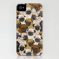 Social Pugz iPhone (4, 4s) Slim Case