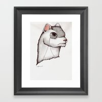 Don't Try To Weasel Your… Framed Art Print