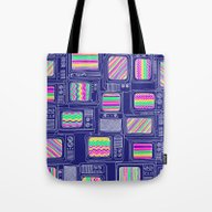 Tote Bag featuring Interference by Daniel Teixeira
