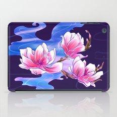 Magnolia night iPad Case