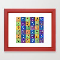 Children's games Framed Art Print