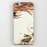 Vampire knight kiss iPhone & iPod Skin