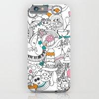 My Happy Doodle iPhone 6 Slim Case