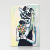 Jungle Candy Stationery Cards