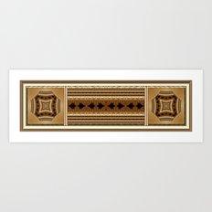 The gilded era Art Print