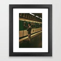 PARIS VII - YOUNG MAN Framed Art Print