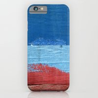 iPhone & iPod Case featuring Blue Blue Red by Shy Photog