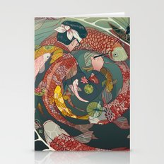 Ukiyo-e tale: The creative circle Stationery Cards