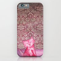 iPhone & iPod Case featuring Origami Cat 1 by eefak