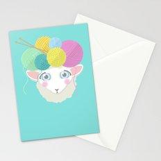 Sheepy Yarn Head Stationery Cards