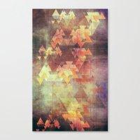 Rearrange the sky Canvas Print