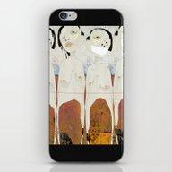 iPhone & iPod Skin featuring « Les Trop Nombreux » by Linda Vachon