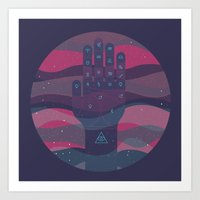 HEY BABY, WHAT'S YOUR SIGN, I'M A GEMINI Art Print
