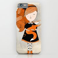 iPhone & iPod Case featuring Fox by Kristina Sabaite