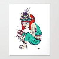 Voodoo magic Canvas Print