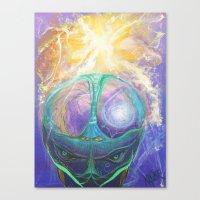 Cerebro Canvas Print