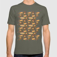 Fast Food Mens Fitted Tee Lieutenant SMALL